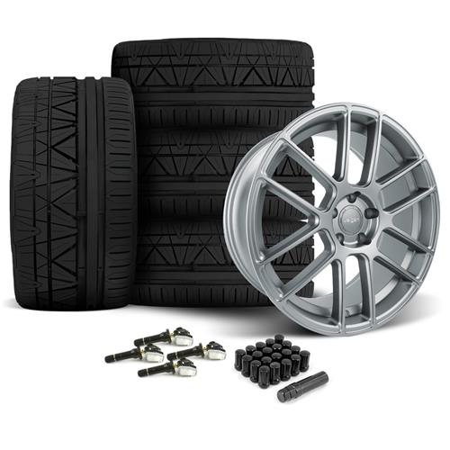 Velgen Mustang VMB6 Wheel & Tire Kit - 20x9/10.5 Matte Gunmetal (15-16) Nitto Invo