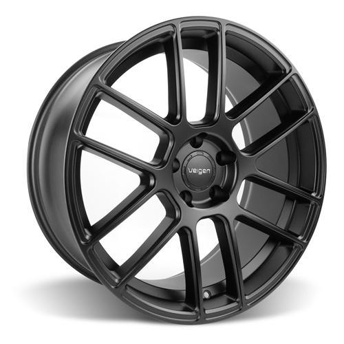 Velgen Mustang VMB6 Wheel & Tire Kit - 20x9/10.5 Satin Black (15-16) Nitto NT555 - Velgen Mustang VMB6 Wheel & Tire Kit - 20x9/10.5 Satin Black (15-16) Nitto NT555