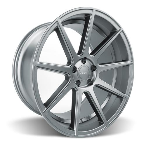 Velgen Mustang VMB9 Wheel & Nitto NT05 Tire Kit Gunmetal (05-14)
