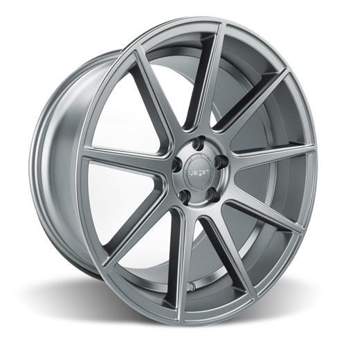 Velgen Mustang VMB9 Wheel & Nitto NT05 Tire Kit Gunmetal (15-16)