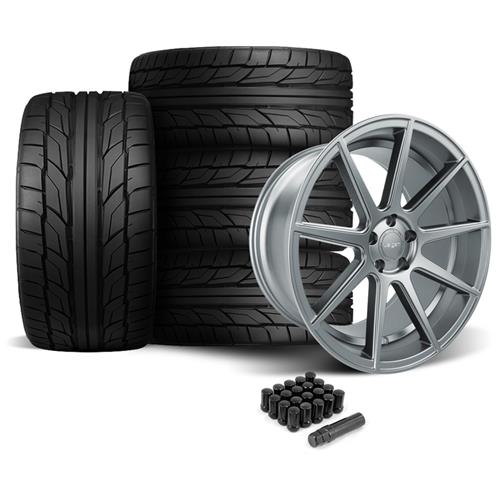Velgen Mustang VMB9 Wheel & Nitto NT555 Tire Kit Gunmetal (05-14)