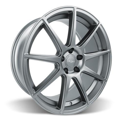 Velgen Mustang VMB9 Wheel & Nitto NT555 Tire Kit Gunmetal (15-16)