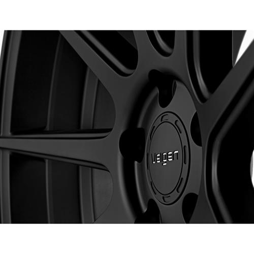 Velgen Mustang VMB9 Wheel & Tire Kit Black (15-17) Nitto NT555 G2