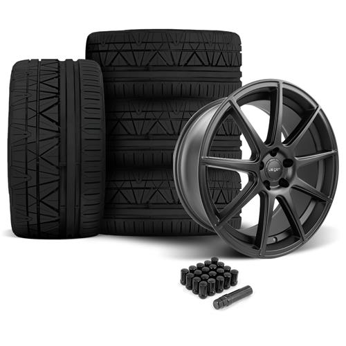 Velgen Mustang VMB9 Wheel & Nitto Invo Black (05-14)