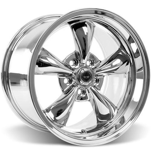 American Racing  Mustang Torque Thrust M Wheel & Tire Kit - 17x9/10.5 Chrome (94-04) Sumitomo HTR Z